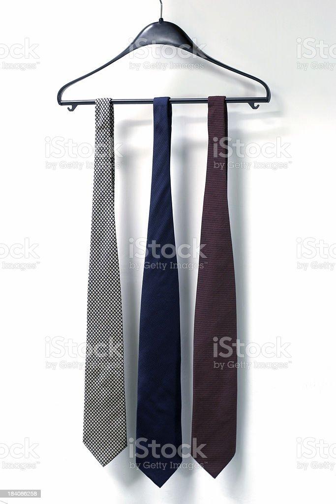 Three Neckties royalty-free stock photo