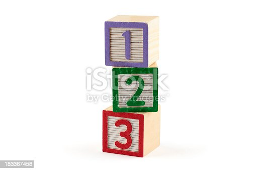 873187696 istock photo Three numbered building blocks on white background 183367458
