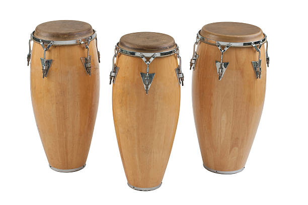Three of congas stock photo