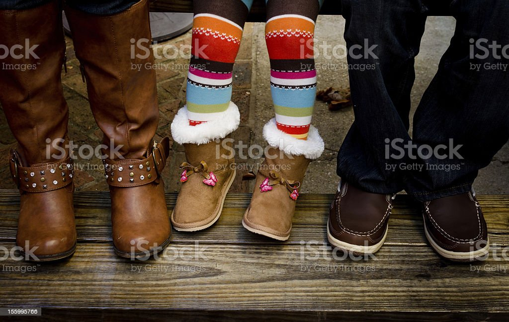 Three Pairs stock photo