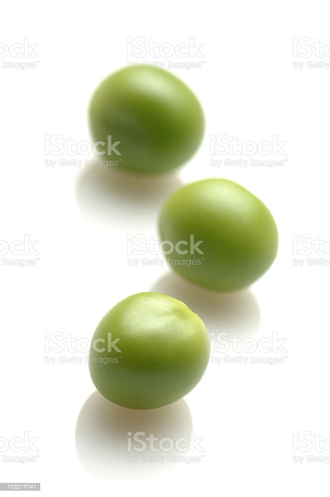 Three Peas stock photo