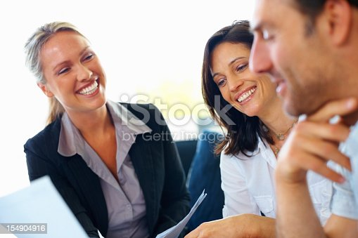 istock Three people at a consultation 154904916