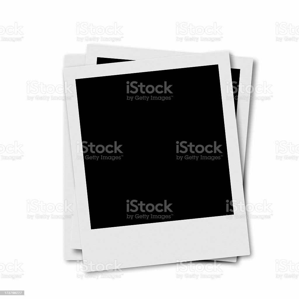 three Photo Frames royalty-free stock photo