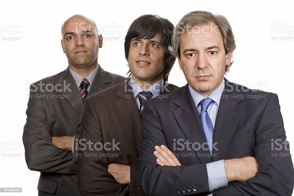 three royalty-free stock photo