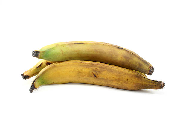 3 plantains - 플렌틴 바나나 뉴스 사진 이미지