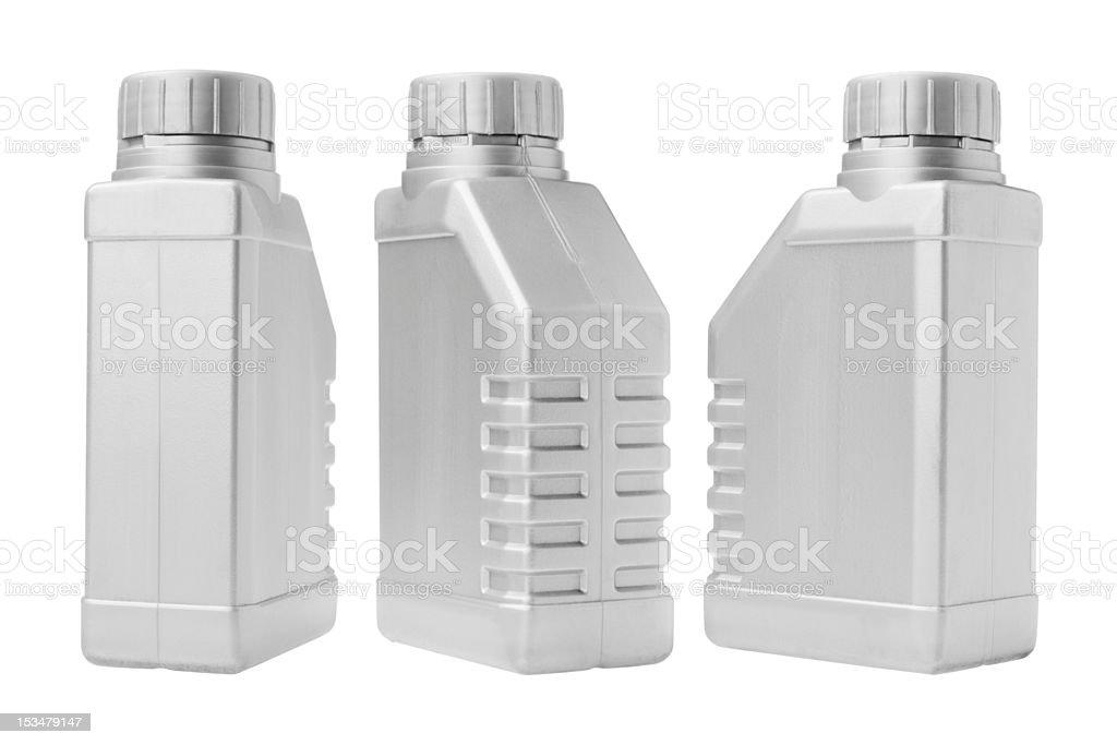 Three Plastic Containers stock photo