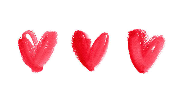 Aquarell Heart Shape – Foto
