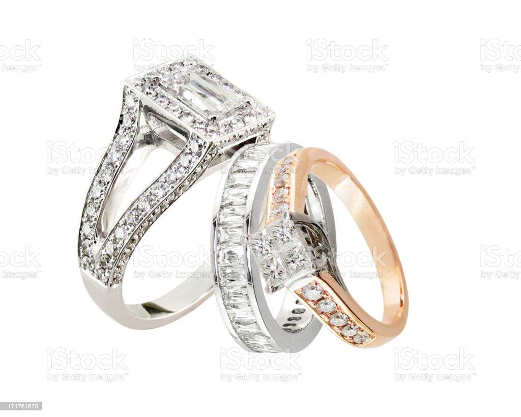 three rings royalty-free stock photo