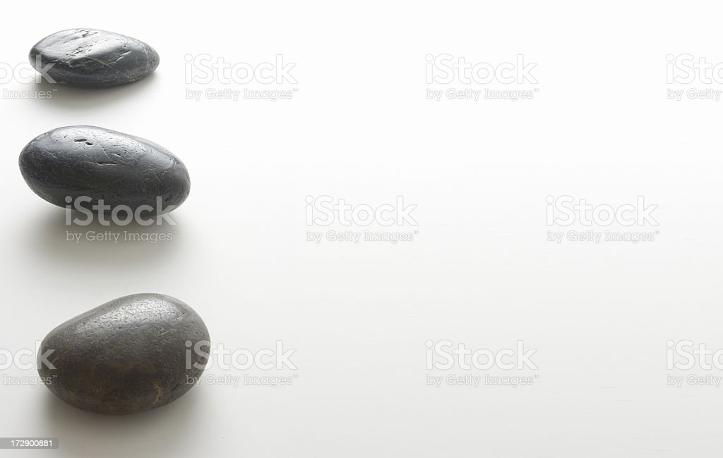 Three Rocks stock photo