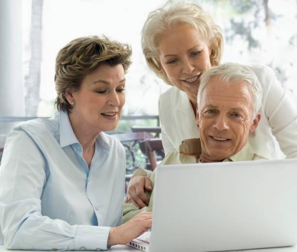 Drei Senioren – Foto