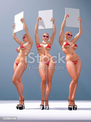 istock three sexy woman holding blank billboards 152964246