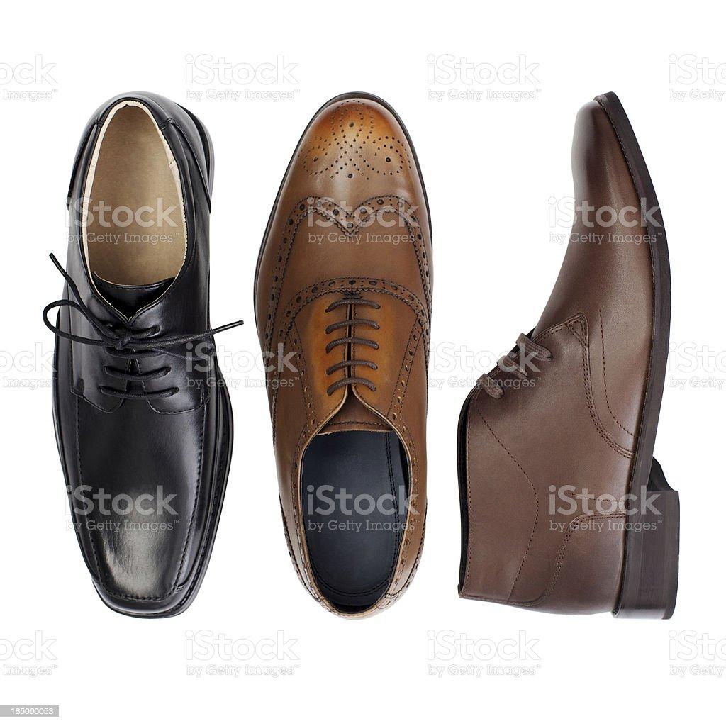 Three Shoes... royalty-free stock photo