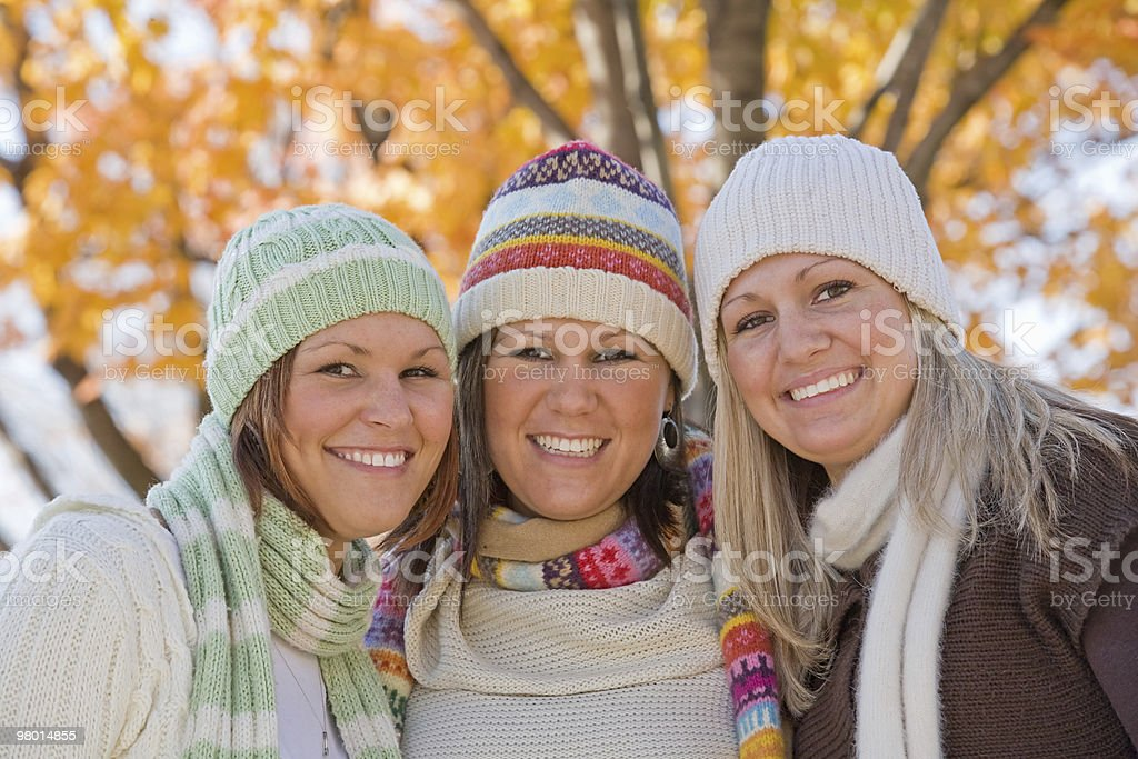 Three Sisters royalty-free stock photo