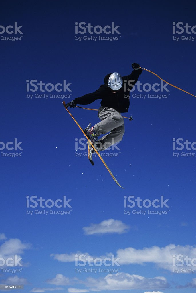 Three sixty tail grab II stock photo
