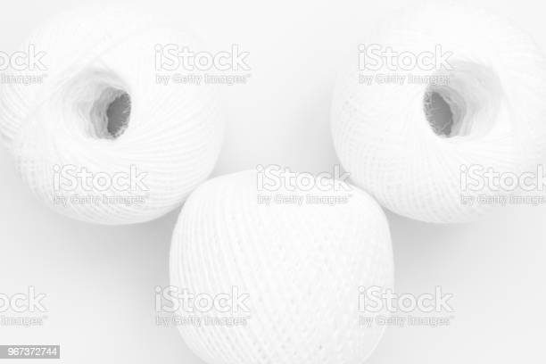 Three skeins of white thread on white background abstract background picture id967372744?b=1&k=6&m=967372744&s=612x612&h=zxo5kgnvb9gix4plw50xb3pg45gb gtqidsw61uidse=