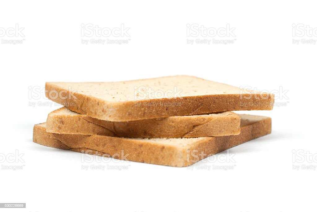 Three Sliced Bread stock photo