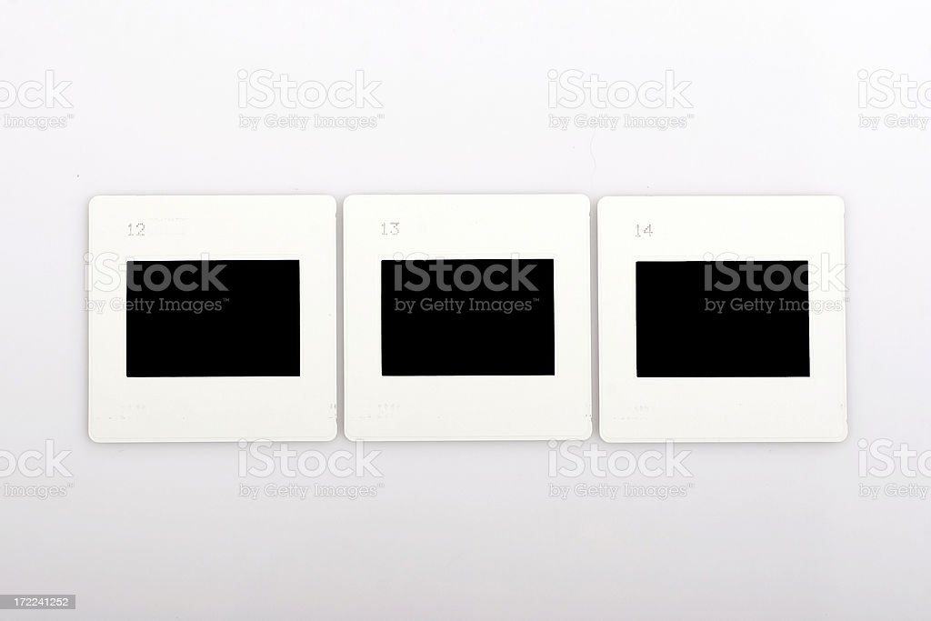 Three slides royalty-free stock photo