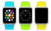 Three smart watches