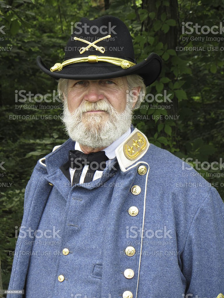 Three Star General royalty-free stock photo