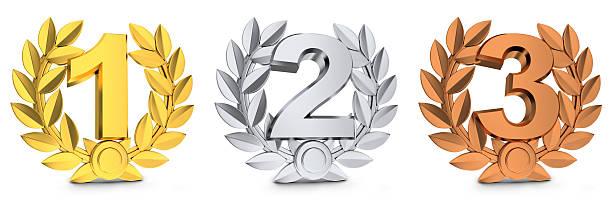 Drei symbol Gewinner – Foto