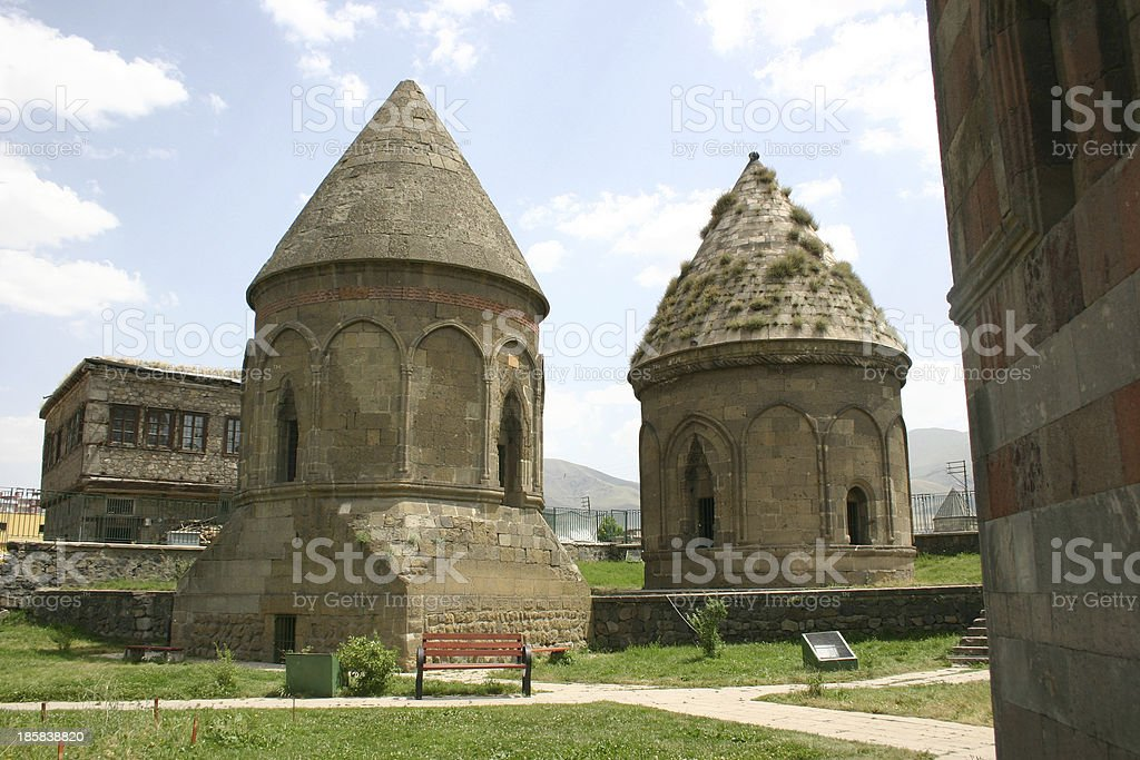 Three tombs royalty-free stock photo