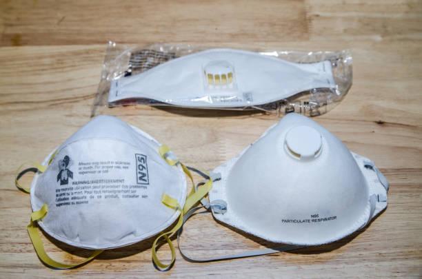 Three types of N95 masks