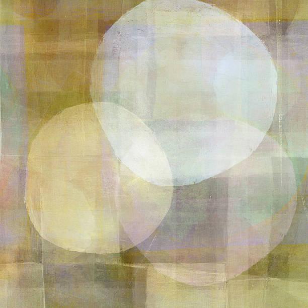 Three White Circles stock photo