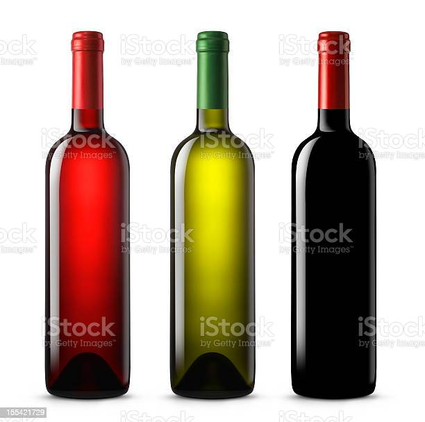 Three wine bottles in various colors on a white background picture id155421729?b=1&k=6&m=155421729&s=612x612&h=unztwz7puwdt949afgttt5 vg7t0hjwnaegsg3makis=