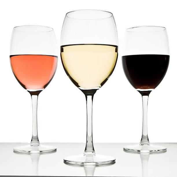 Drei Gläser Wein – Foto