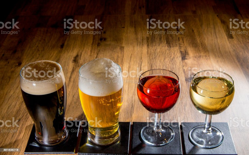 Three Wine Heaven stock photo