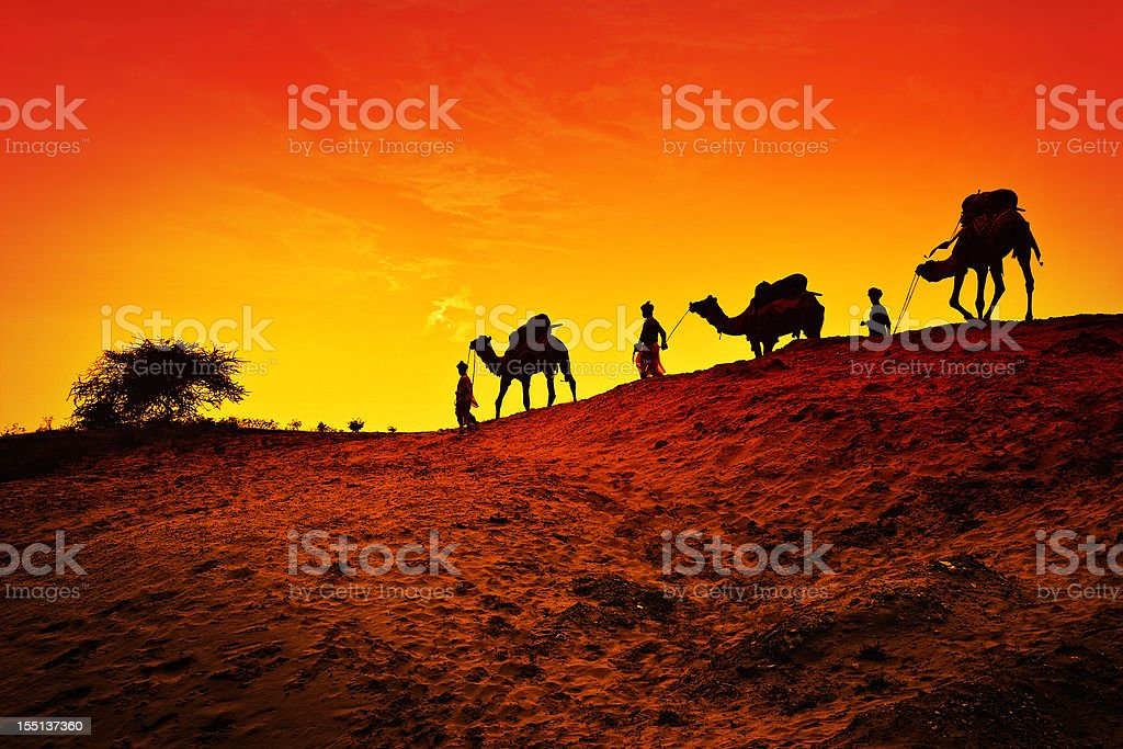 Three wise men Christmas Story stock photo