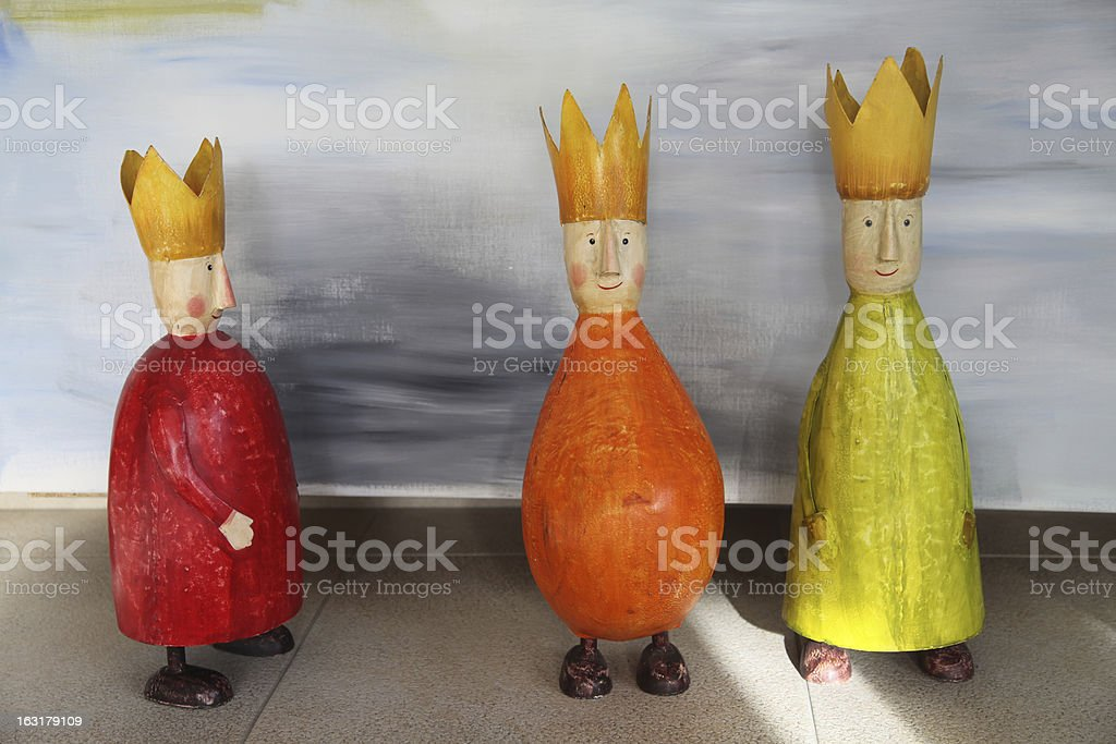 three wise men royalty-free stock photo