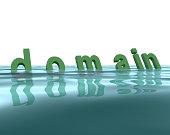 Three-dimensional Domain text
