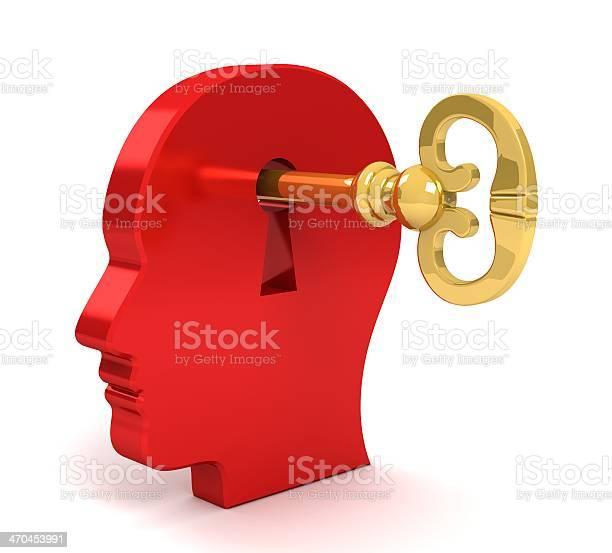 Threedimensional head with key inserted in keyhole picture id470453991?b=1&k=6&m=470453991&s=612x612&h=oyza4xa30tpoddf 9b7kajzqjrjzvkylo4hykjy3yhi=