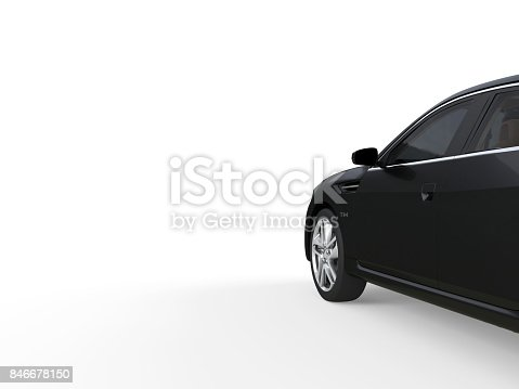 475358758 istock photo Three-dimensional modern gold car 846678150