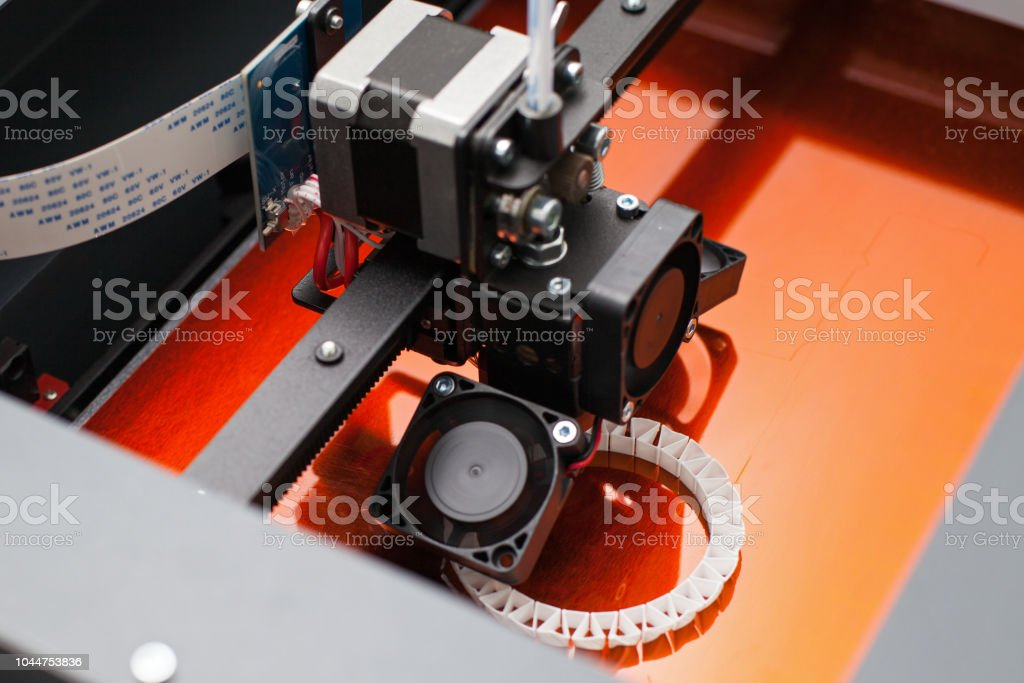 Imprimante en trois dimensions - Photo