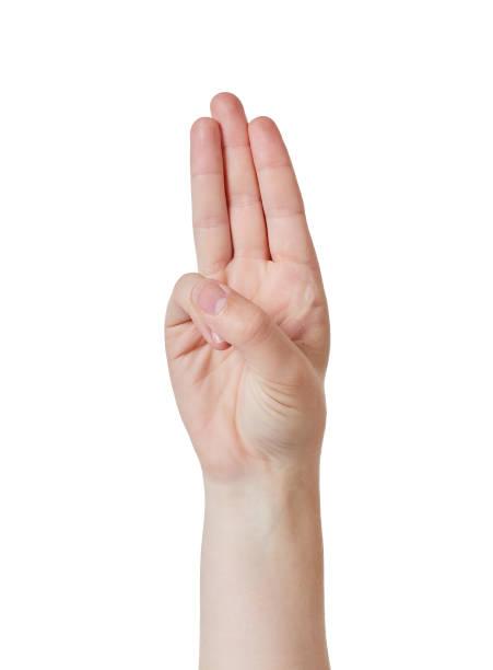 saludo de tres dedos - boy scout fotografías e imágenes de stock