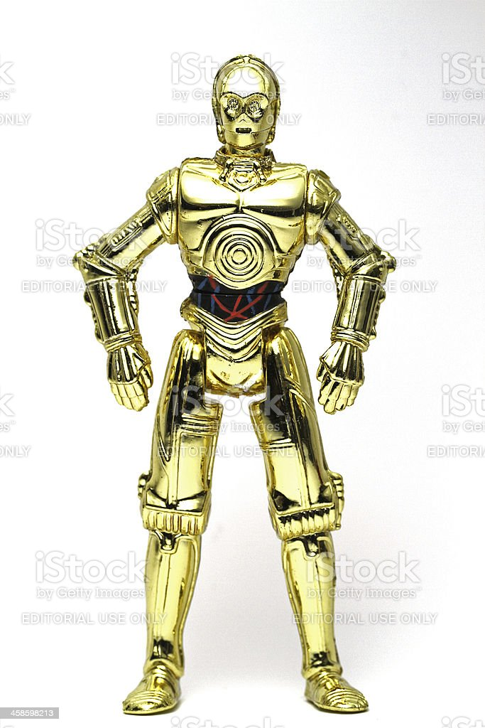 Threepio stock photo
