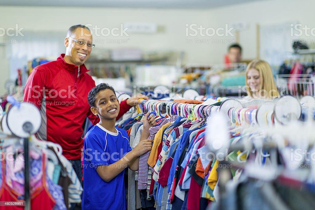 Thrift Store stock photo