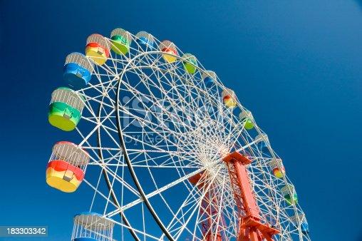 Ferris wheel in the Sydney Luna park