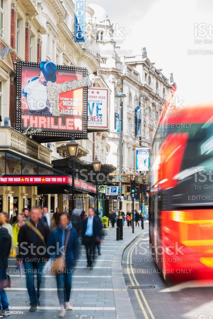 Lyric lyric theatre london : Thriller Musical In Lyric Theatre At Shaftesbury Ave Soho London ...