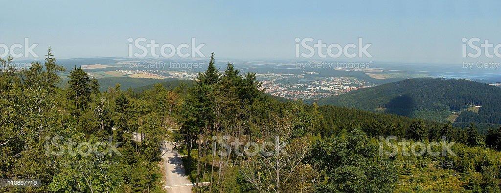 Thüringer Wald stock photo