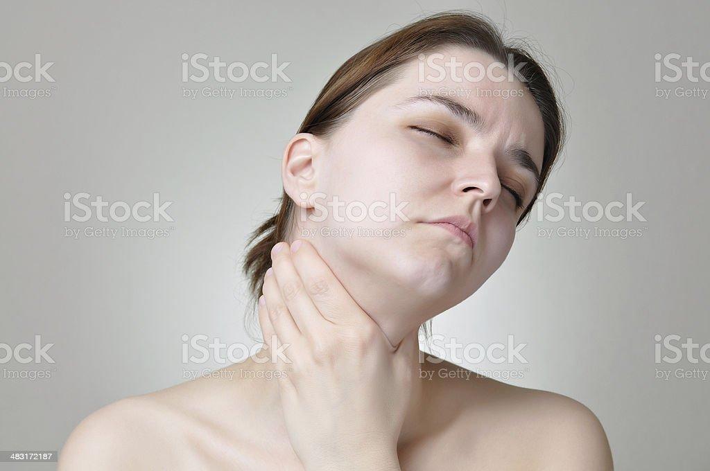Hals Schmerzen – Foto