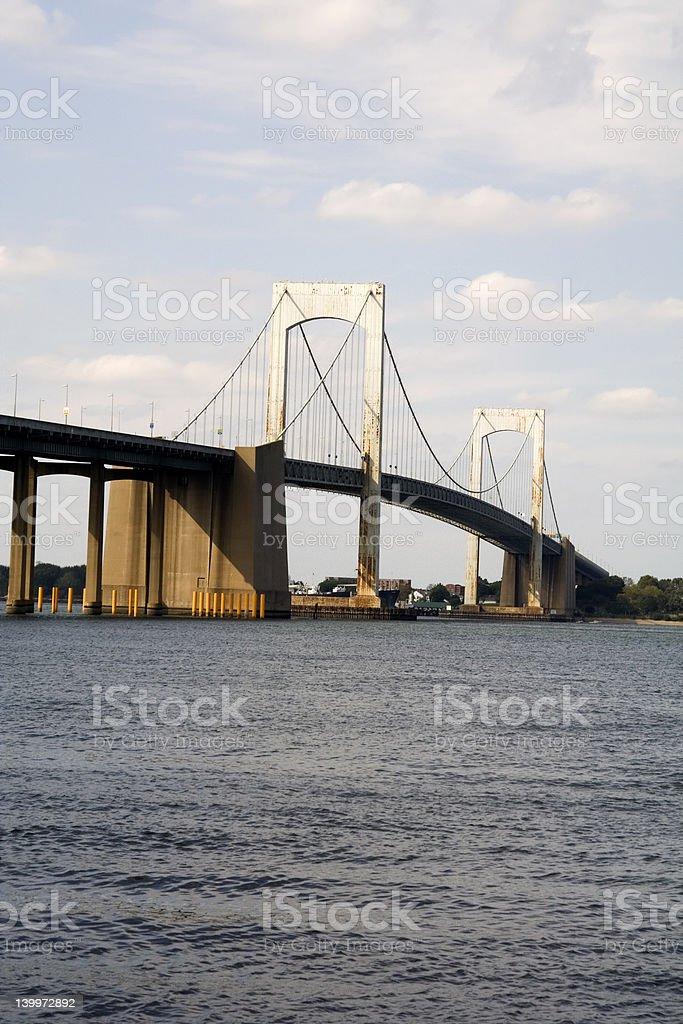 Throgs Neck Bridge - New York royalty-free stock photo