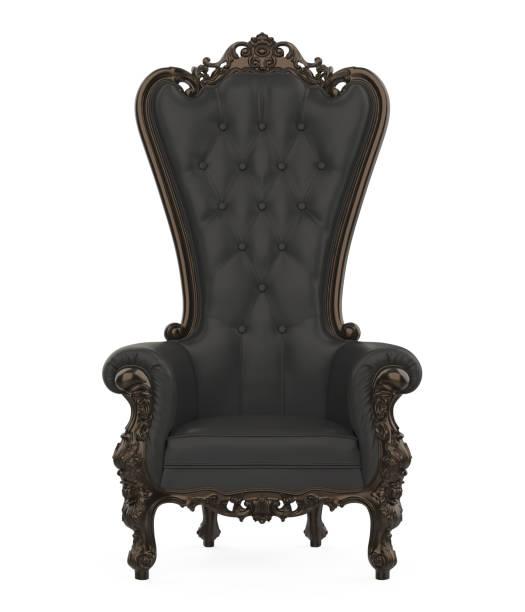 throne chair isolated - tron zdjęcia i obrazy z banku zdjęć