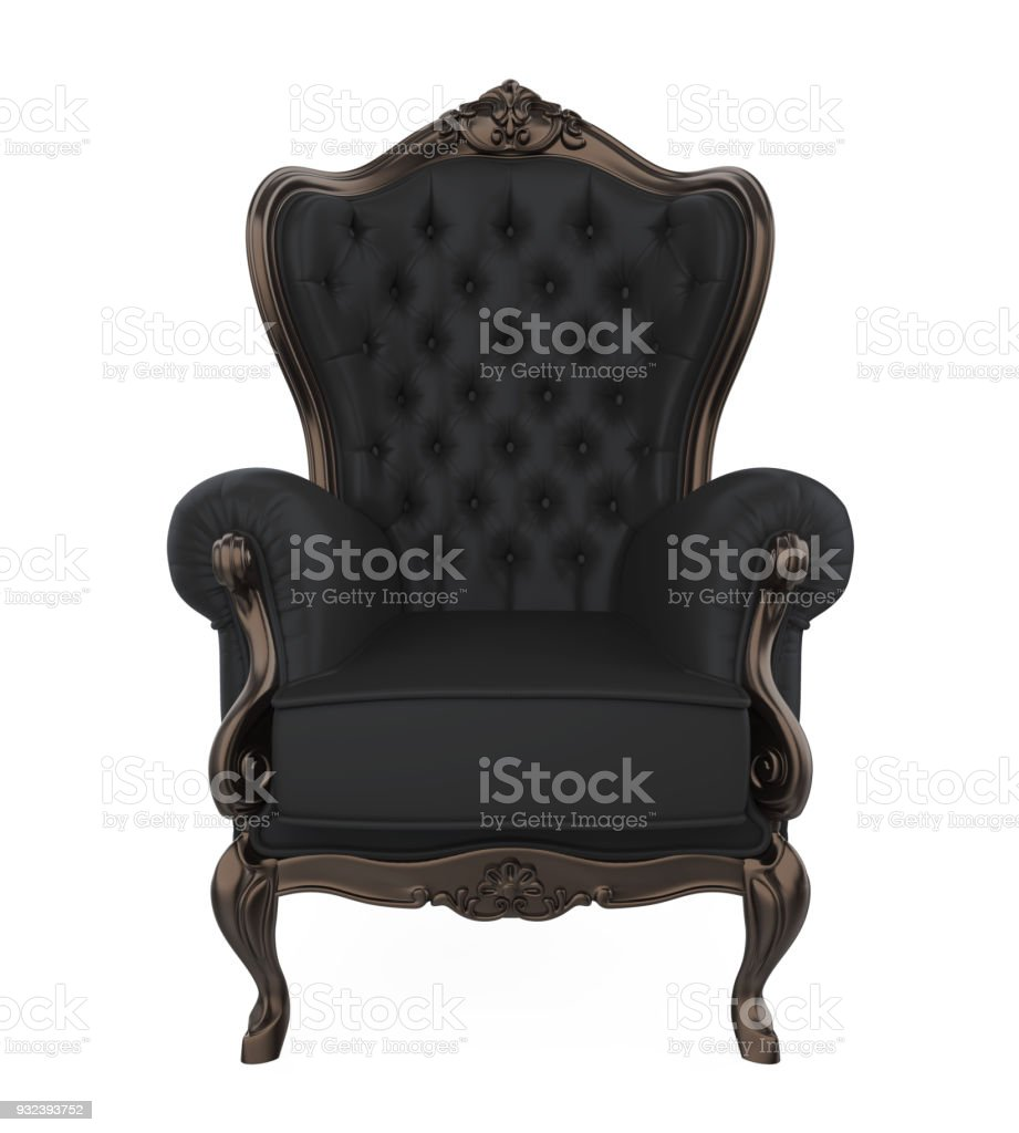Throne Chair Isolated stock photo