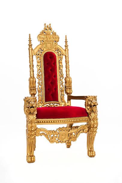 tron z złota - tron zdjęcia i obrazy z banku zdjęć