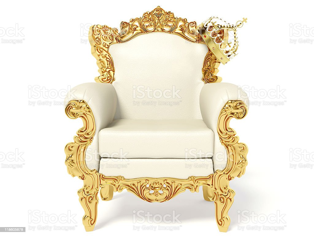 throne royalty-free stock photo