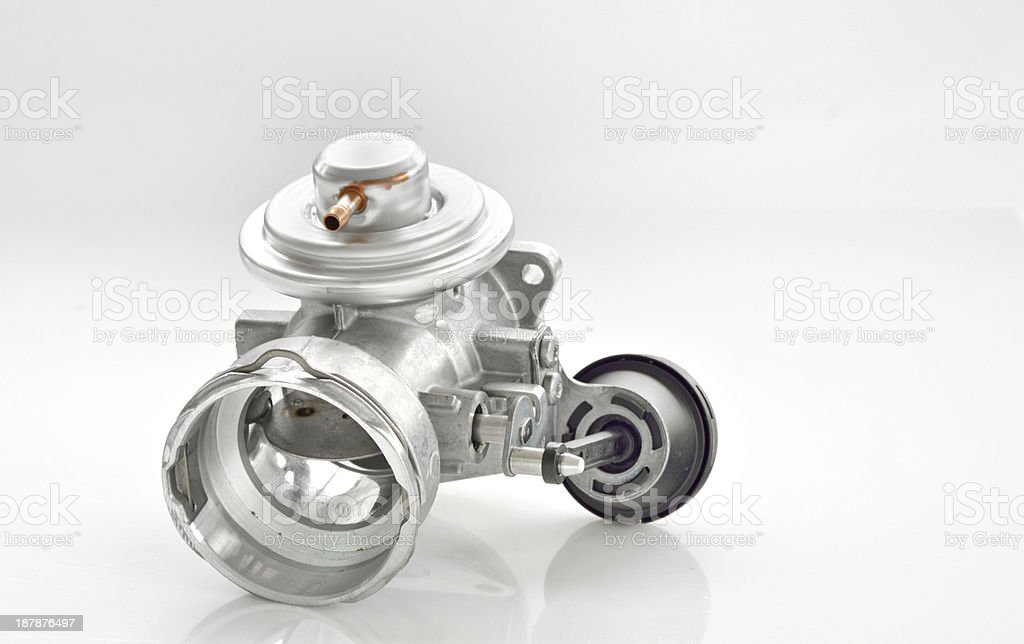 throttle isolated royalty-free stock photo