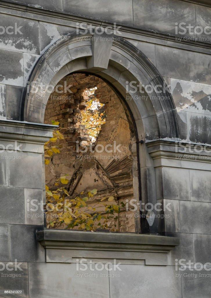 Through a Window royalty-free stock photo